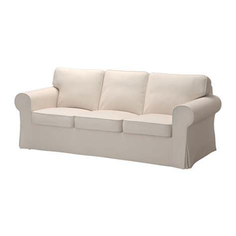 ikea slipcover sofa ektorp canap 233 3 places lofallet beige ikea