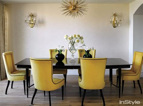 yellow dining room chairs yellow dining chairs transitional dining room