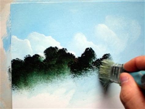 acrylic painting lessons step by step painting lesson for beginner artists landscape with