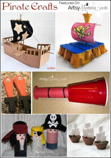 pirate craft ideas for 25 best ideas about pirate day on pirate