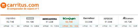 caprabo a casa online caprabo online compara y compara a trav 233 s de carritus
