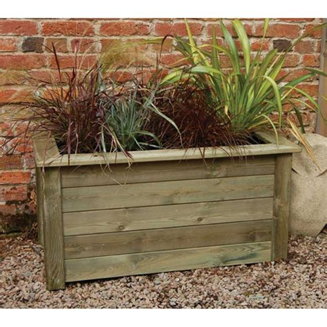 outdoor wooden planters forest garden planter kit 2 sizes large compost capacity