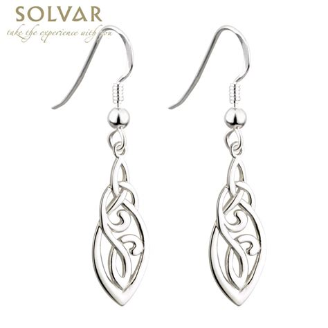 how to make celtic jewelry celtic earrings sterling silver celtic knot