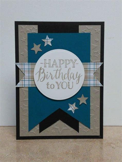 Masculine Birthday Card Blue Cards