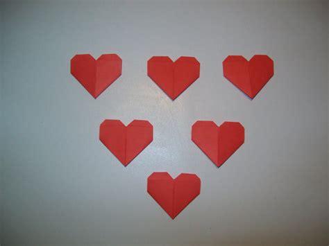 small origami hearts 100 mini origami wedding ornament wedding origami