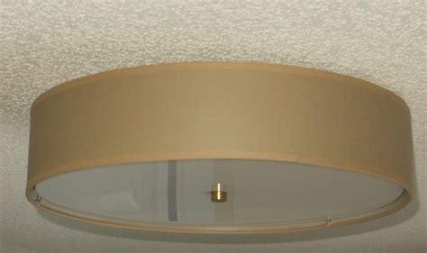 flush drum light fixture flush mount linen drum shade light fixture s t lighting