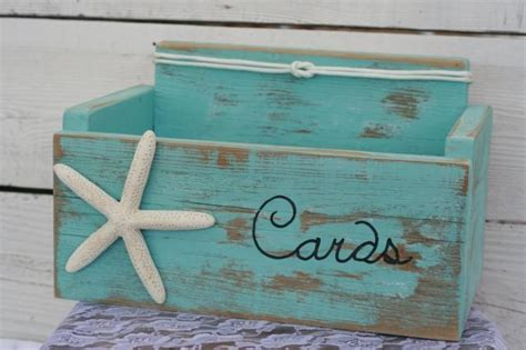 how to make a baby shower card box card wedding box holder distressed nautical rustic