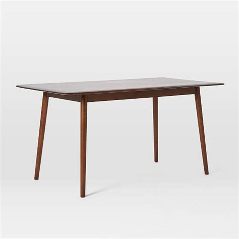 mid century dining tables lena mid century dining table large west elm