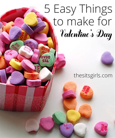 day craft ideas for to make 5 easy things to make for s day
