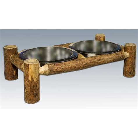 mt woodworks montana woodworks 174 glacier country rustic feeder