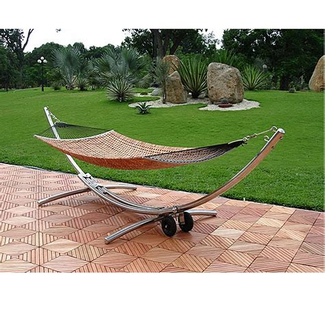outdoor hammock with stand object moved