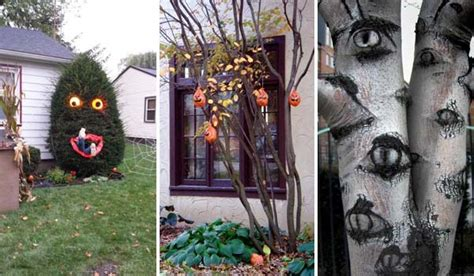 decorations for outdoor trees top 21 creepy ideas to decorate outdoor trees for