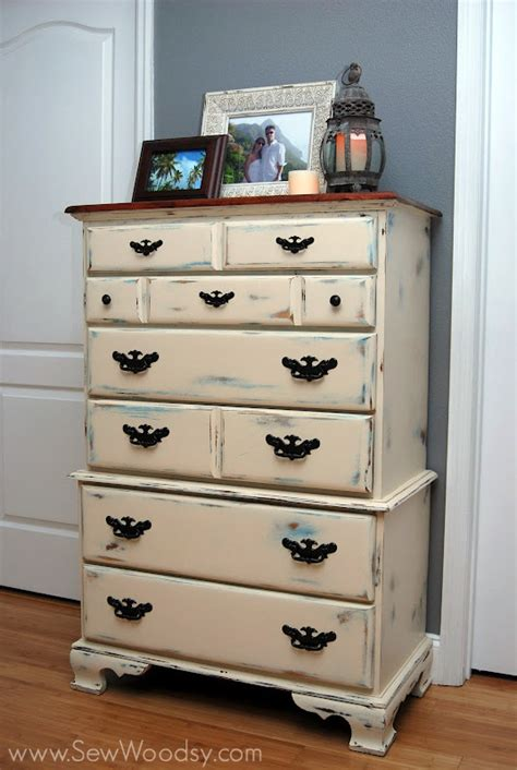 diy antique chalk paint part 3 painting staining and waxing the dressers