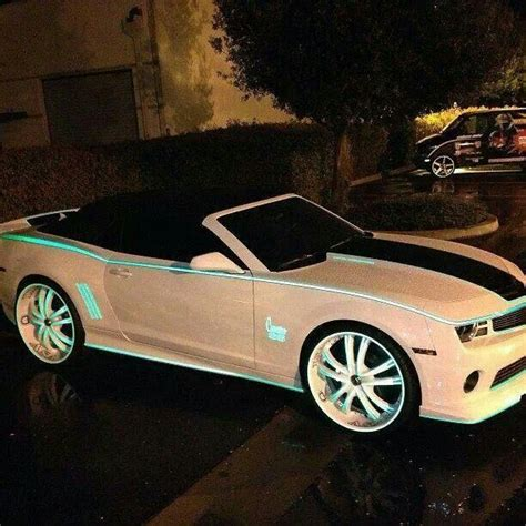 glow in the paint illegal on cars glow in the pinstripes big rims glow