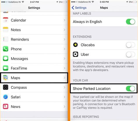Best Find My Car Apps For Iphone by How To Use Find My Car On Iphone On Maps Parked Car