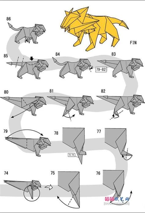 origami animals diagrams the 25 best origami ideas on origami