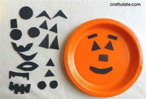 paper plate pumpkin craft preschool crafts for paper plate pumpkin