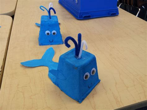 whale crafts for blue whale craft ideas