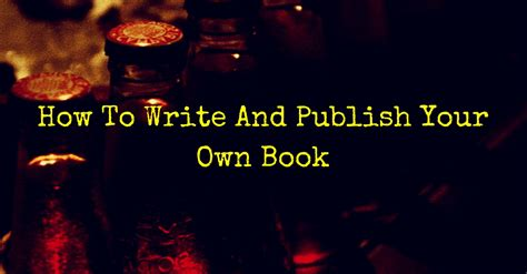 how to publish your how to write and publish your own book rosemary nonny