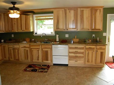 paint colors for kitchen with hickory cabinets hickory kitchen cabinets in westminster md
