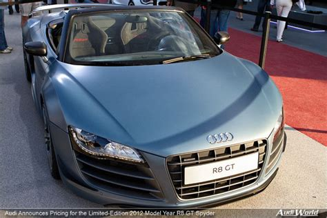 Audi European Delivery Pricing by Audi Announces Pricing For The Limited Edition 2012 Model