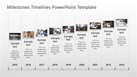 Powerpoint Timeline With Pictures Slidemodel