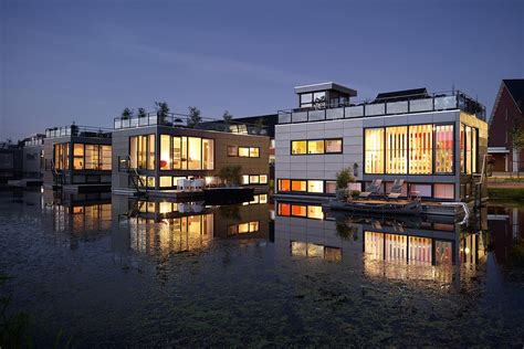 floating houses floating homes utrecht commissioned by discovery channel