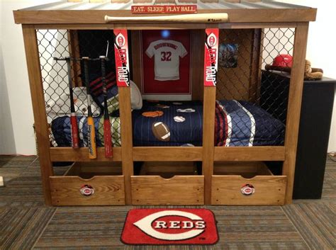 baseball bedroom furniture baseball dugout bedroom designs we thought these rope