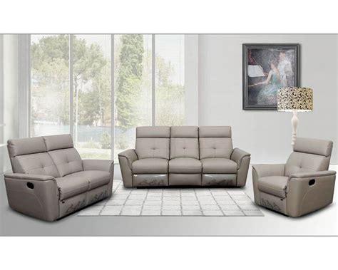 italian leather sofa italian leather sofa set in modern style esf8501set