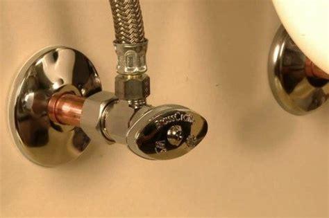 kitchen sink shut valve fix it friday how to replace a water shutoff valve