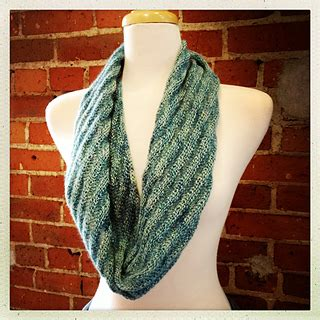 darn knit anyway ravelry rolling wave rings cowl pattern by stipe