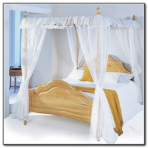 four poster bed with curtains 4 poster bed with curtains beds home design ideas