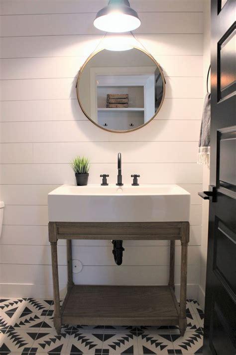 modern bathroom flooring best 25 powder room vanity ideas on bathroom