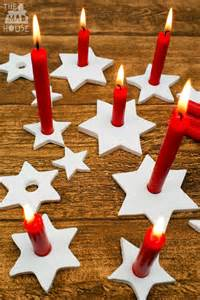 holders to make diy clay candle holders in the madhouse