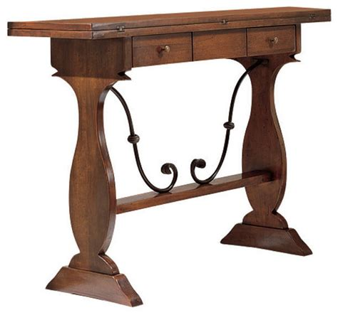 tuscan sofa table tuscan extending console table traditional console