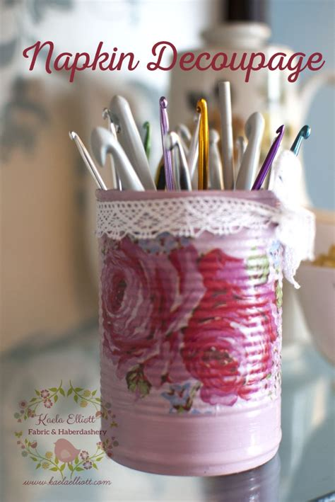 decoupage tins 25 best ideas about napkin decoupage on