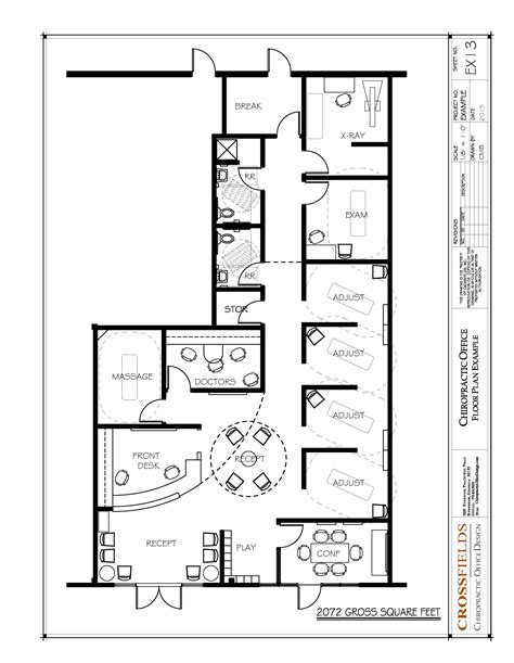 open floor plan office chiropractic office floor plans