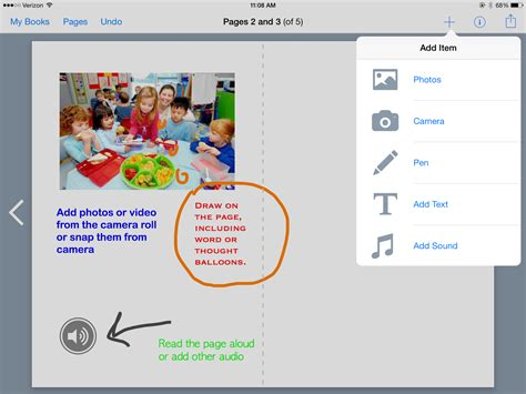 picture book creator what s new in technology to support social and executive