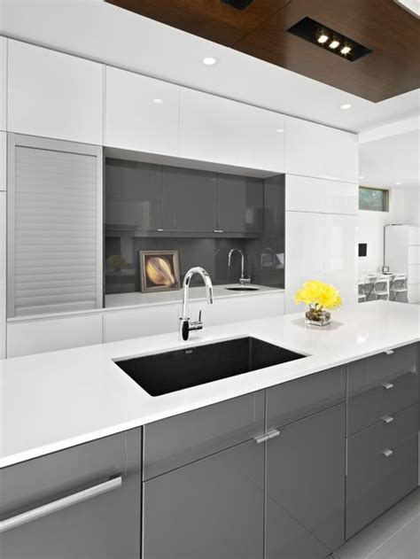 ikea grey kitchen cabinets ikea gloss grey cabinets home design ideas pictures