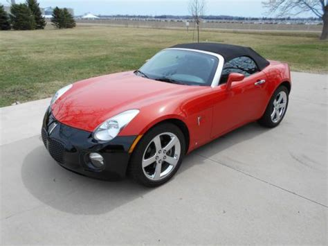 old car owners manuals 2008 pontiac solstice electronic throttle control buy used 2008 pontiac solstice gxp convertible one owner 10 655 miles mint in toledo ohio