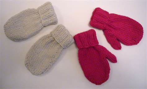 knit mittens mack and mabel baby mittens knitting pattern