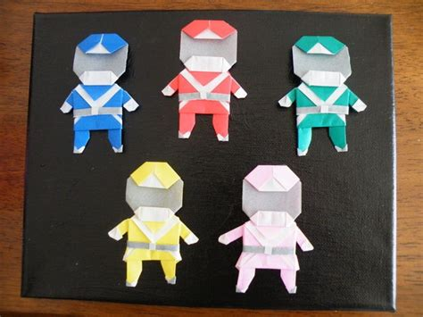 origami power origami power rangers for my boys