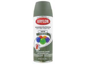 spray paint italy krylon italian olive indoor outdoor satin spray paint