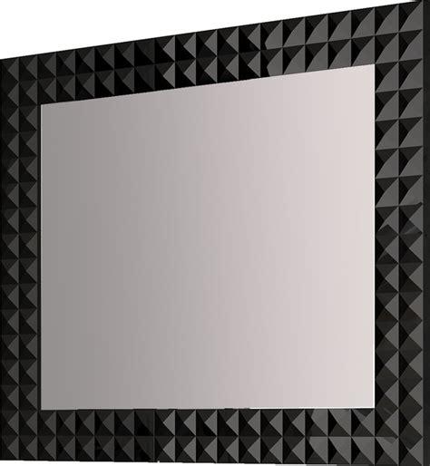black bathroom mirror 39 quot 1 4 bathroom mirror black contemporary