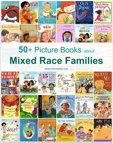 picture books about families 50 picture books about mixed race families