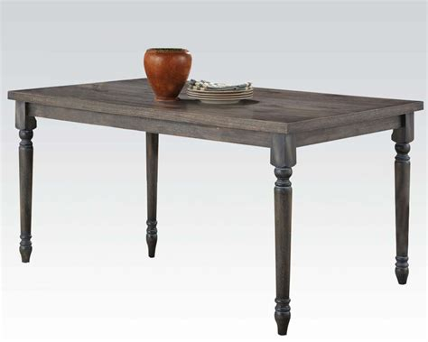 acme dining table acme furniture dining table wallace ac71435