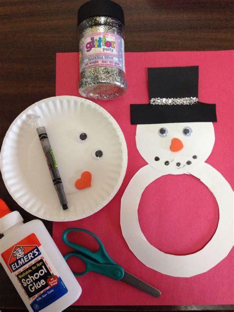 snowman paper plate craft paper plate snowman craft kid craftys