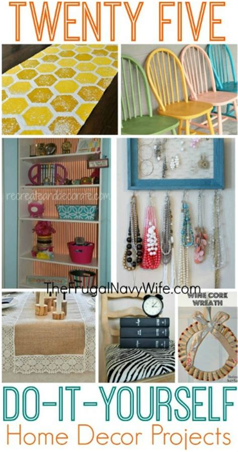 home decor pics 25 diy home decor projects