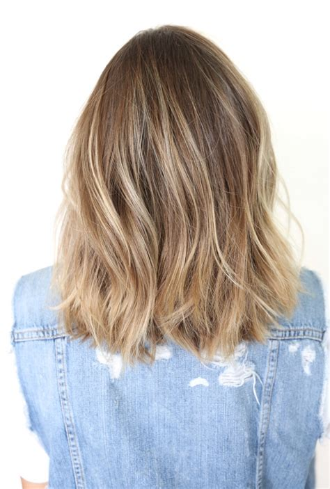pictures of the back of shoulder lenth hair long bob haircuts back view