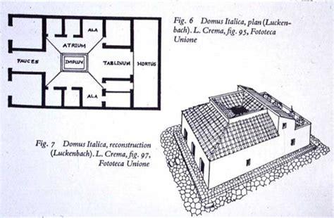 pompeian house plan home page courses washington edu